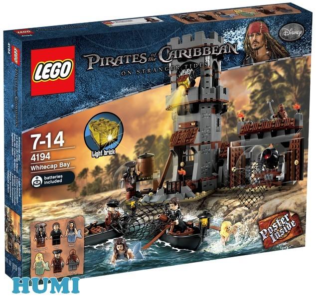 Lego piraci z karaib w 4194 mega forteca xxl ups for Appoggiarsi all aggiunta del garage